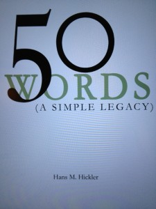 50 Words (A Simple Legacy)
